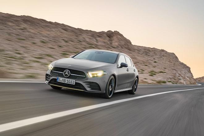 2019 Mercedes Benz A Class Hatchback European Spec 48