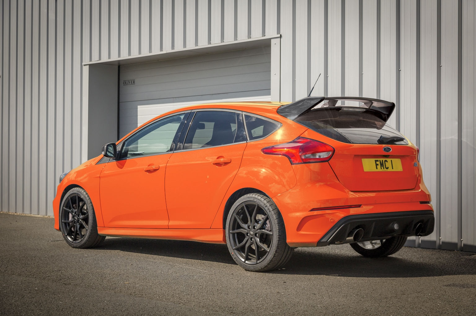 Ford Focus RS Heritage Edition Rear Three Quarters