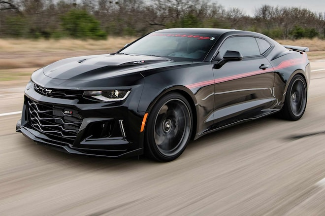 Hennessey Exorcist Camaro Zl1 Hits 217 Mph In New Video Automobile