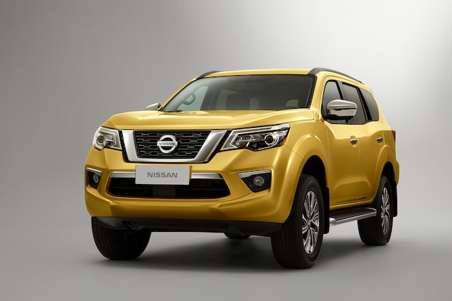 All New Nissan Terra Suv Teased Automobile Magazine