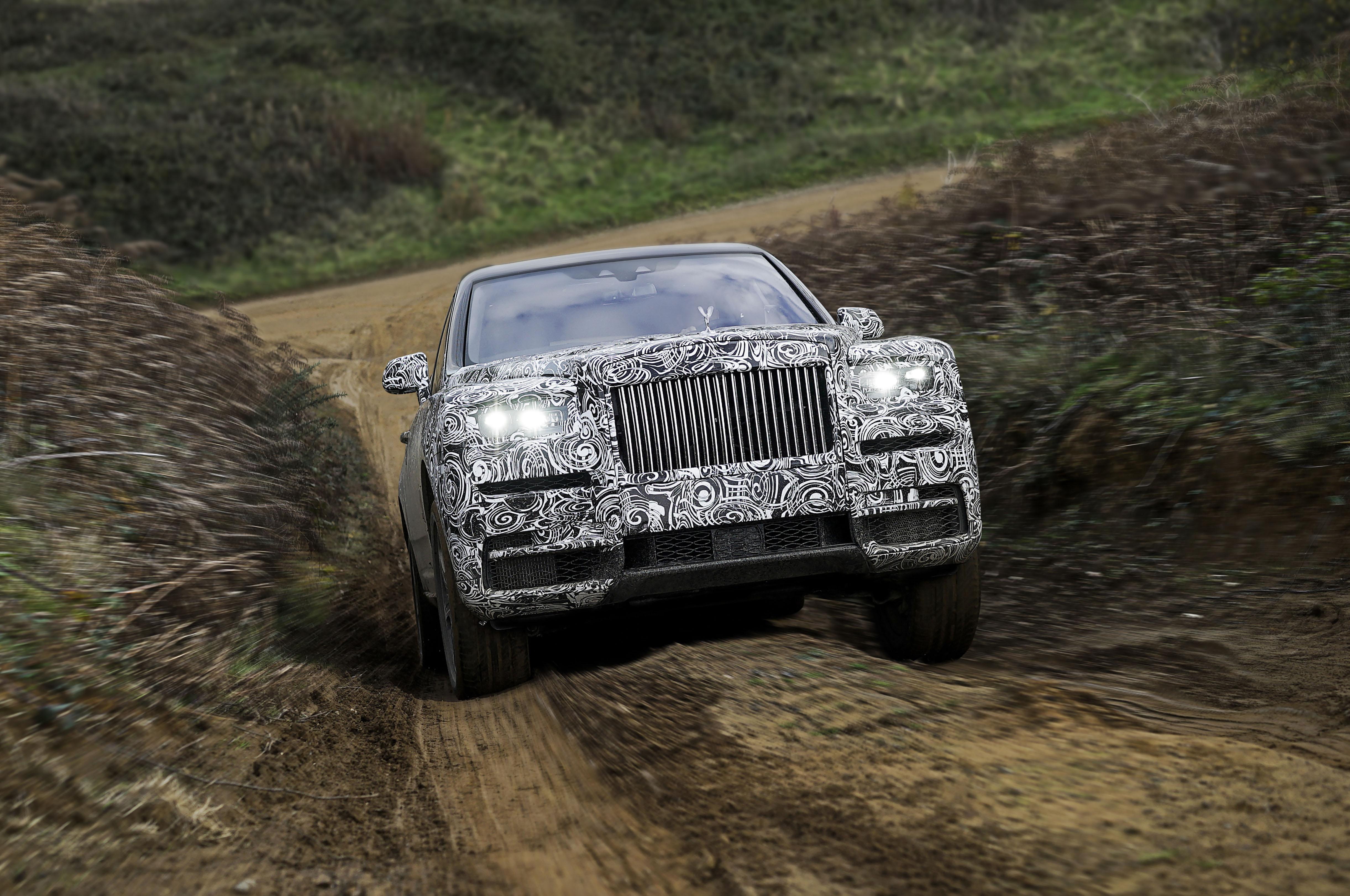 Rolls Royce Cullinan Front