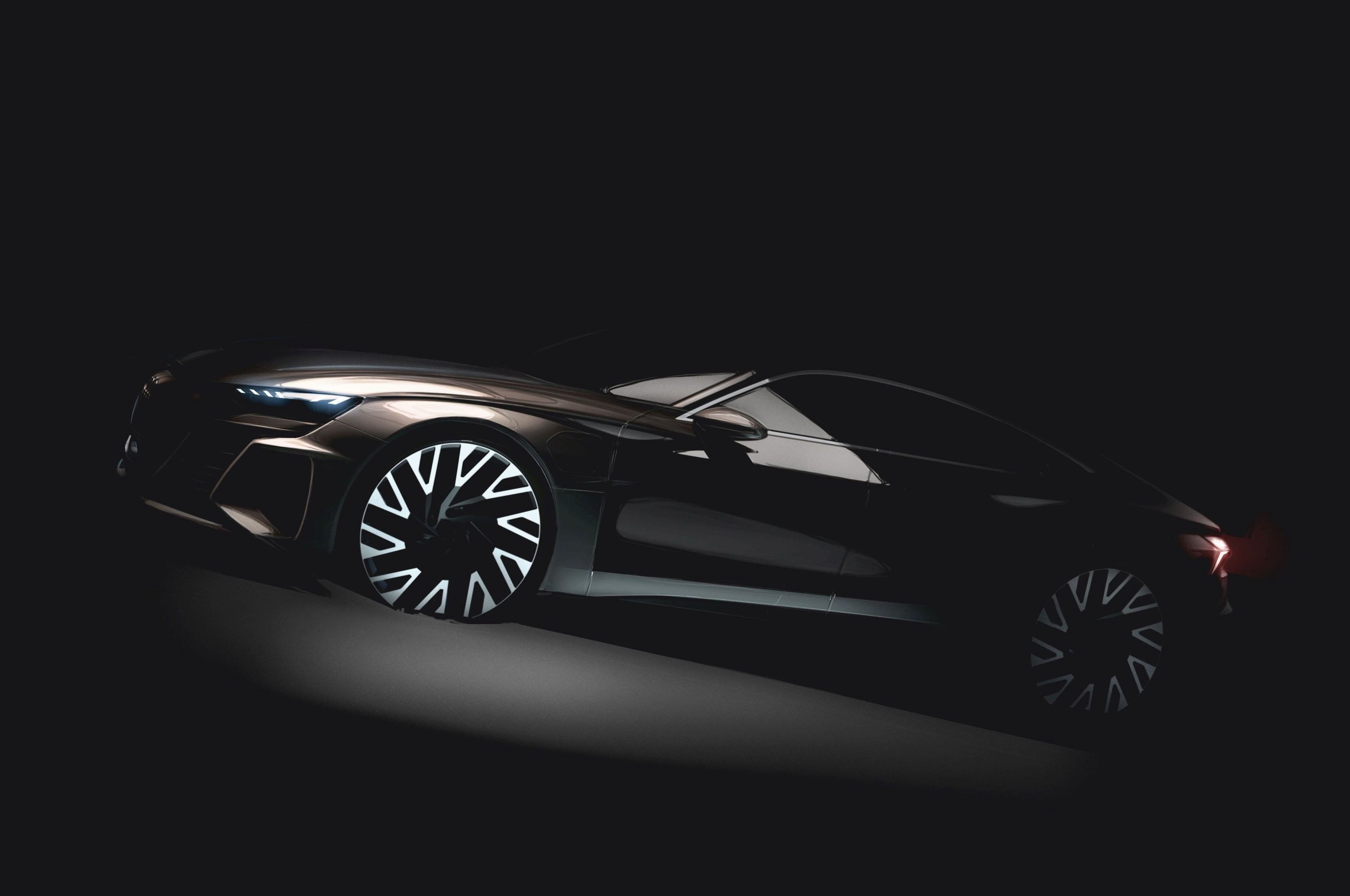 Audi e-Tron GT Electric Sedan Concept