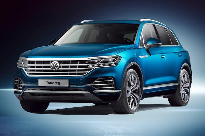 Volkswagen Touareg Front Three Quarters