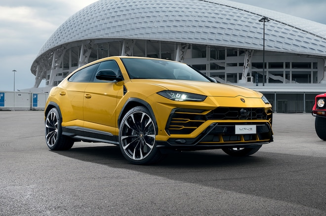 2019 Lamborghini Urus At Olympic Stadium Moscow 2