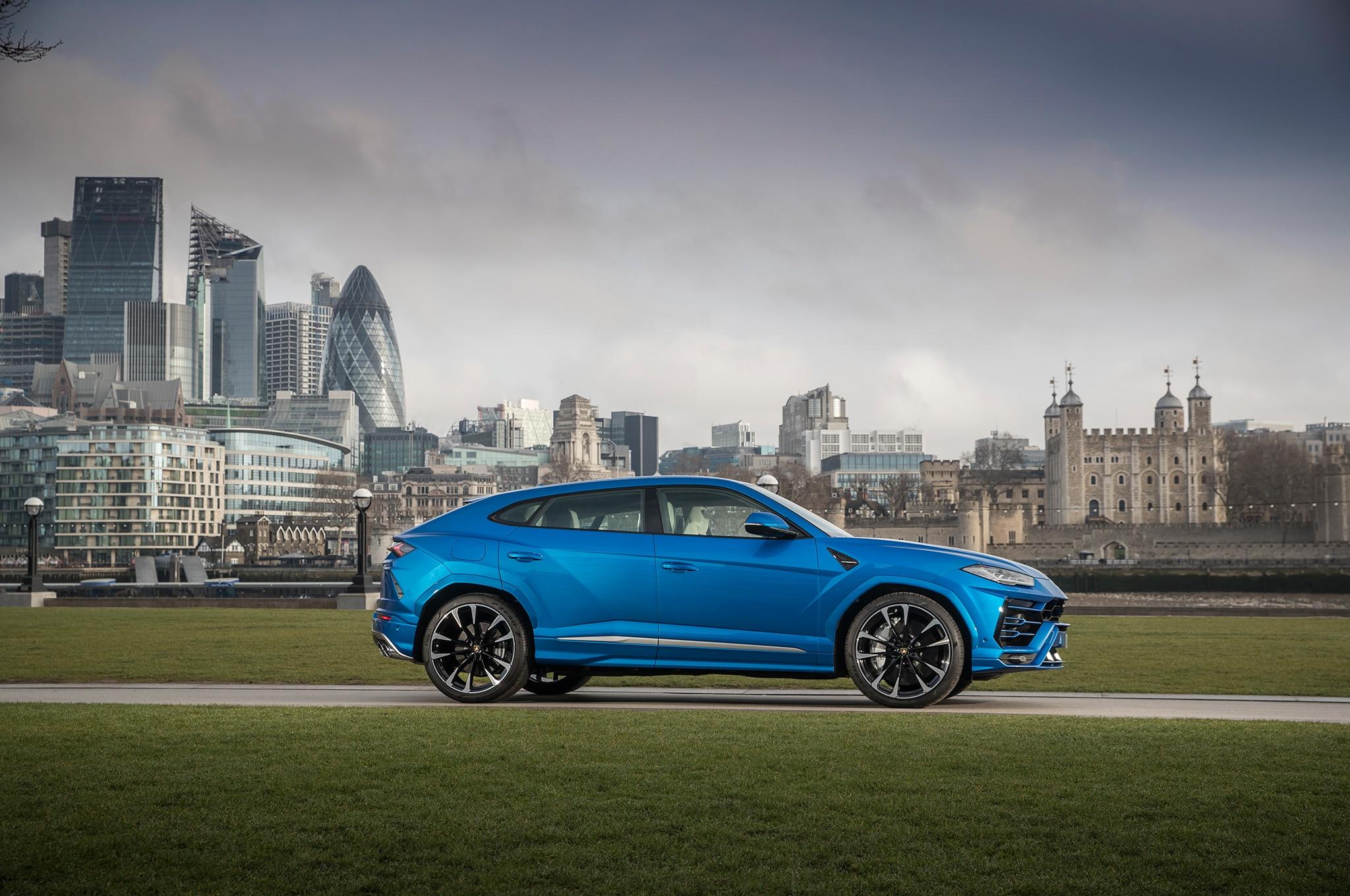 2019 Lamborghini Urus First Drive Review Automobile Magazine