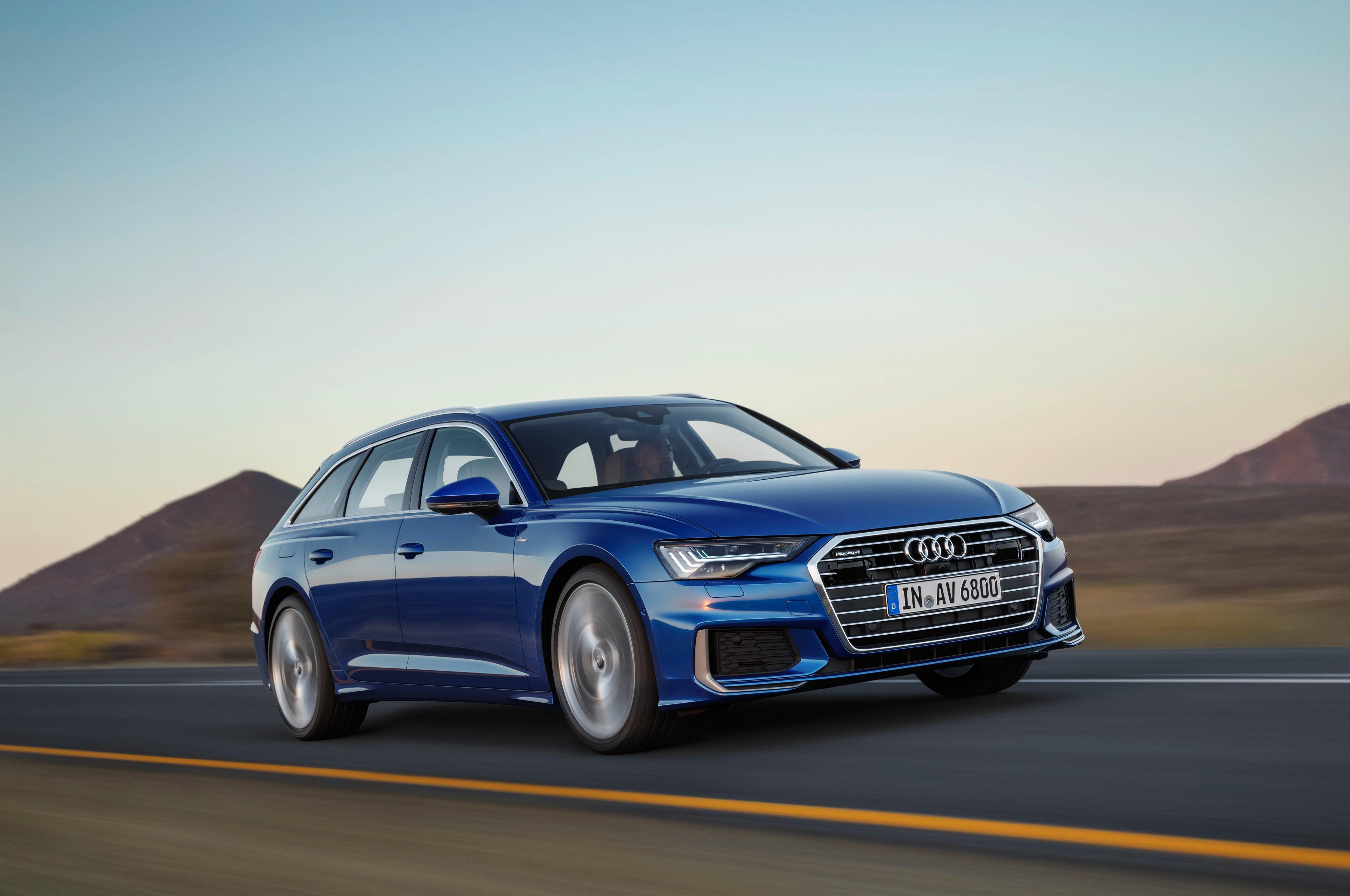 Audi A6 Avant Front Three Quarters