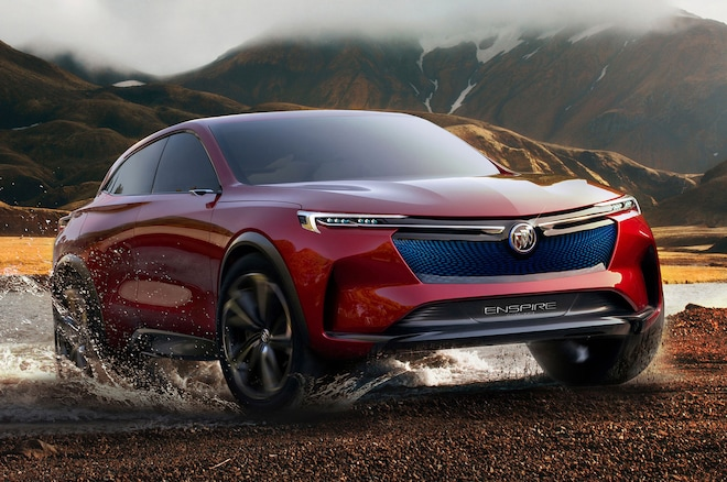 Future Cars 2020 Buick Enspire Concept Front Three Quarter