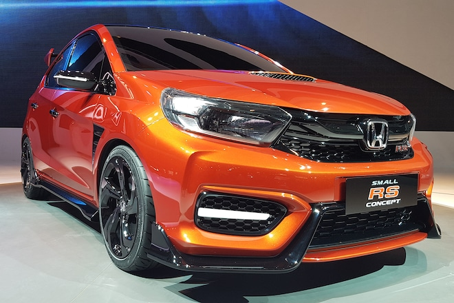 Honda S Small Rs Concept Looks Like A Baby Type R Automobile Magazine