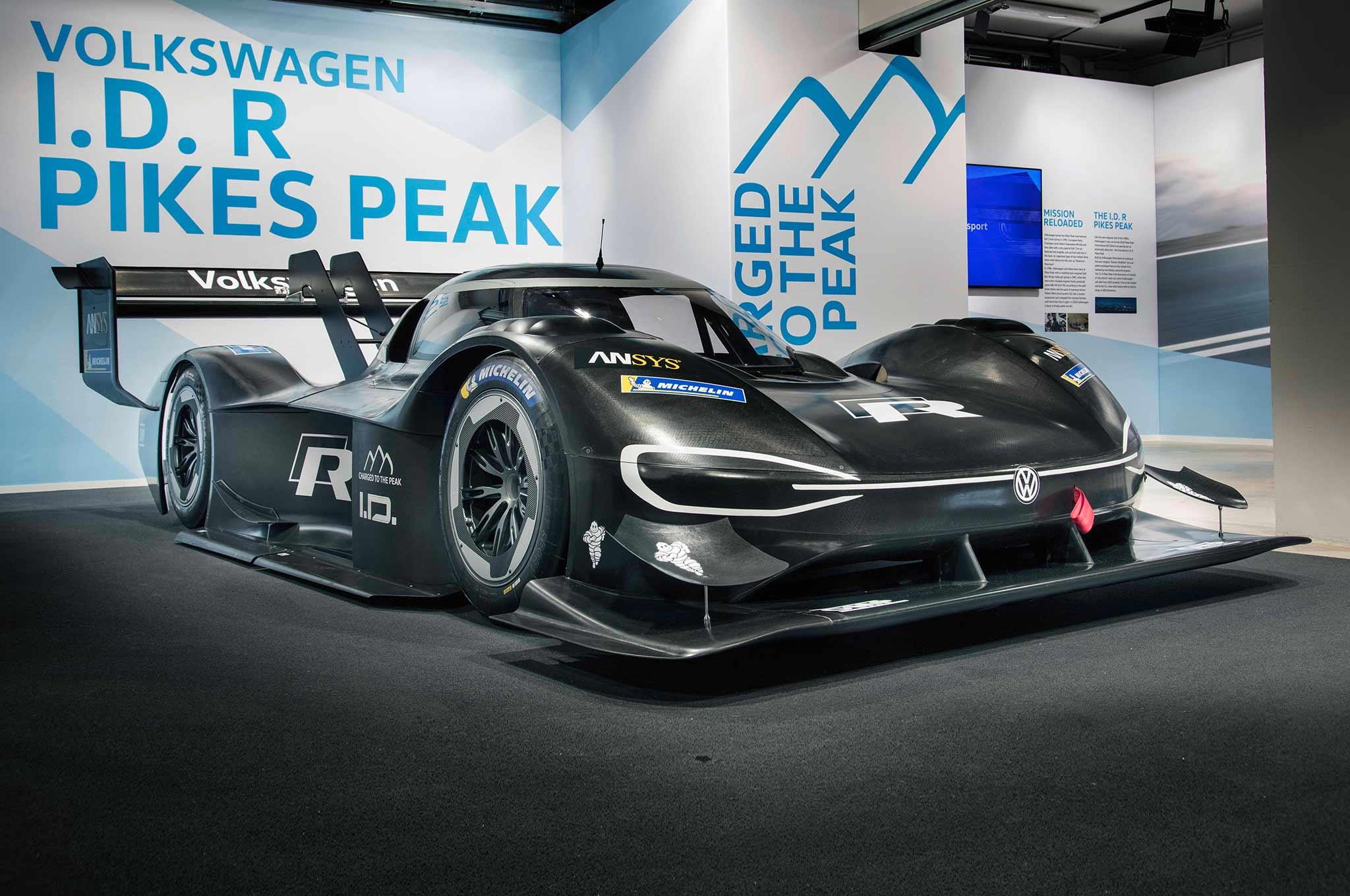Volkswagen ID R Pikes Peak Race Car 01