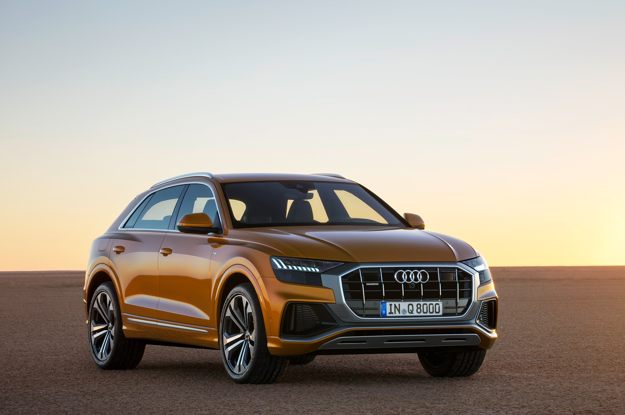Production-Spec 2019 Audi Q8 Premieres In China