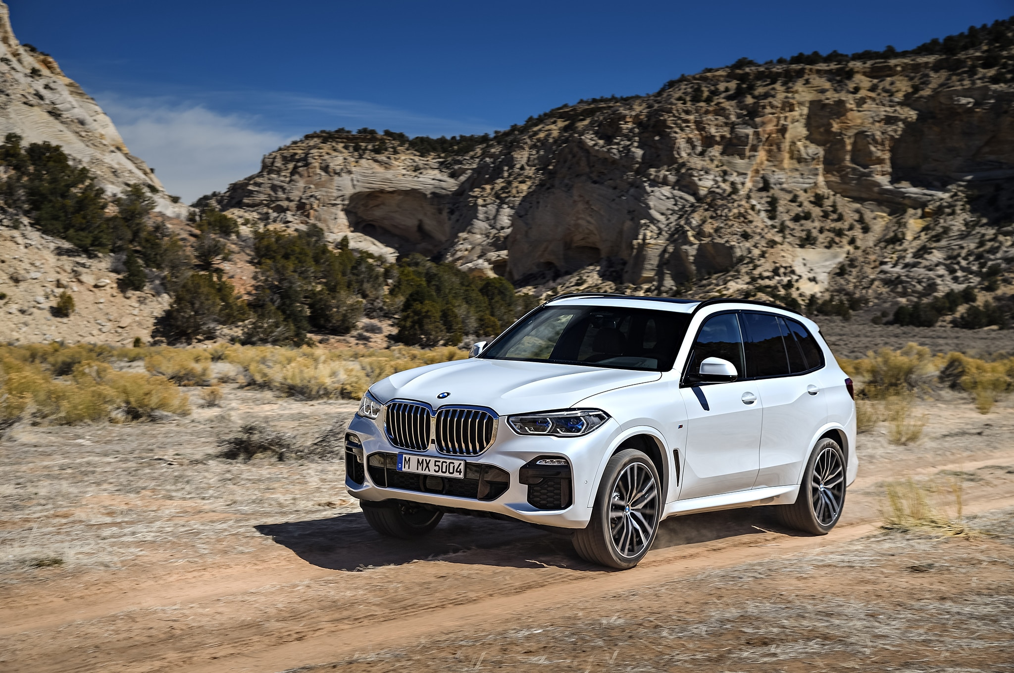 2019 bmw x5 priced from 61 695 automobile magazine. Black Bedroom Furniture Sets. Home Design Ideas