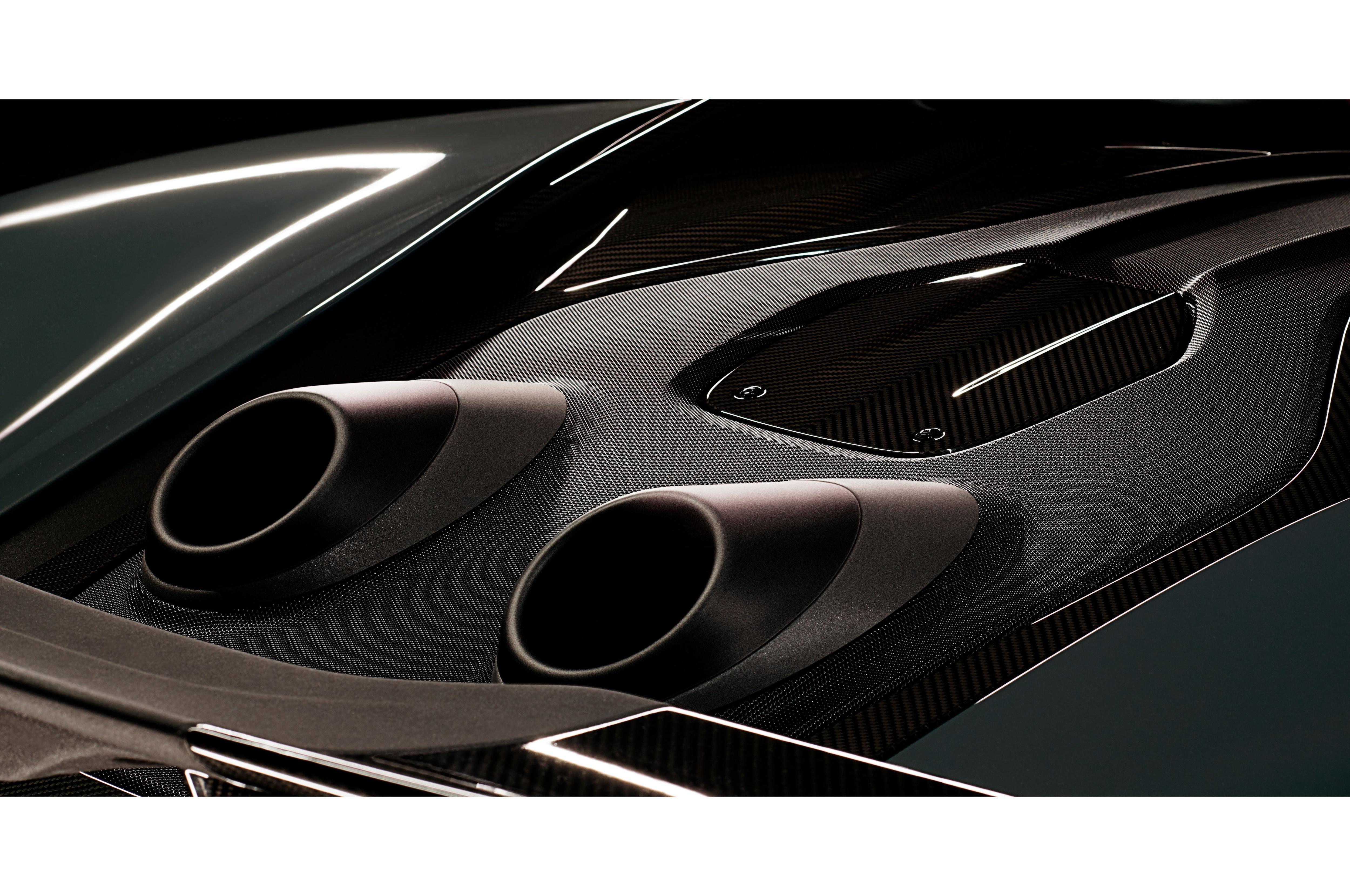 McLaren Top Exit Exhausts