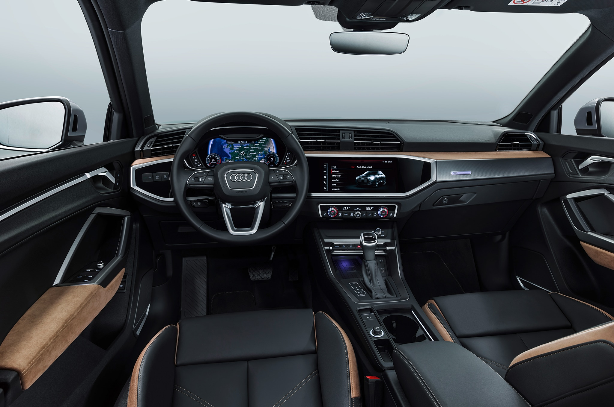 2019 Audi Q3 Dashboard