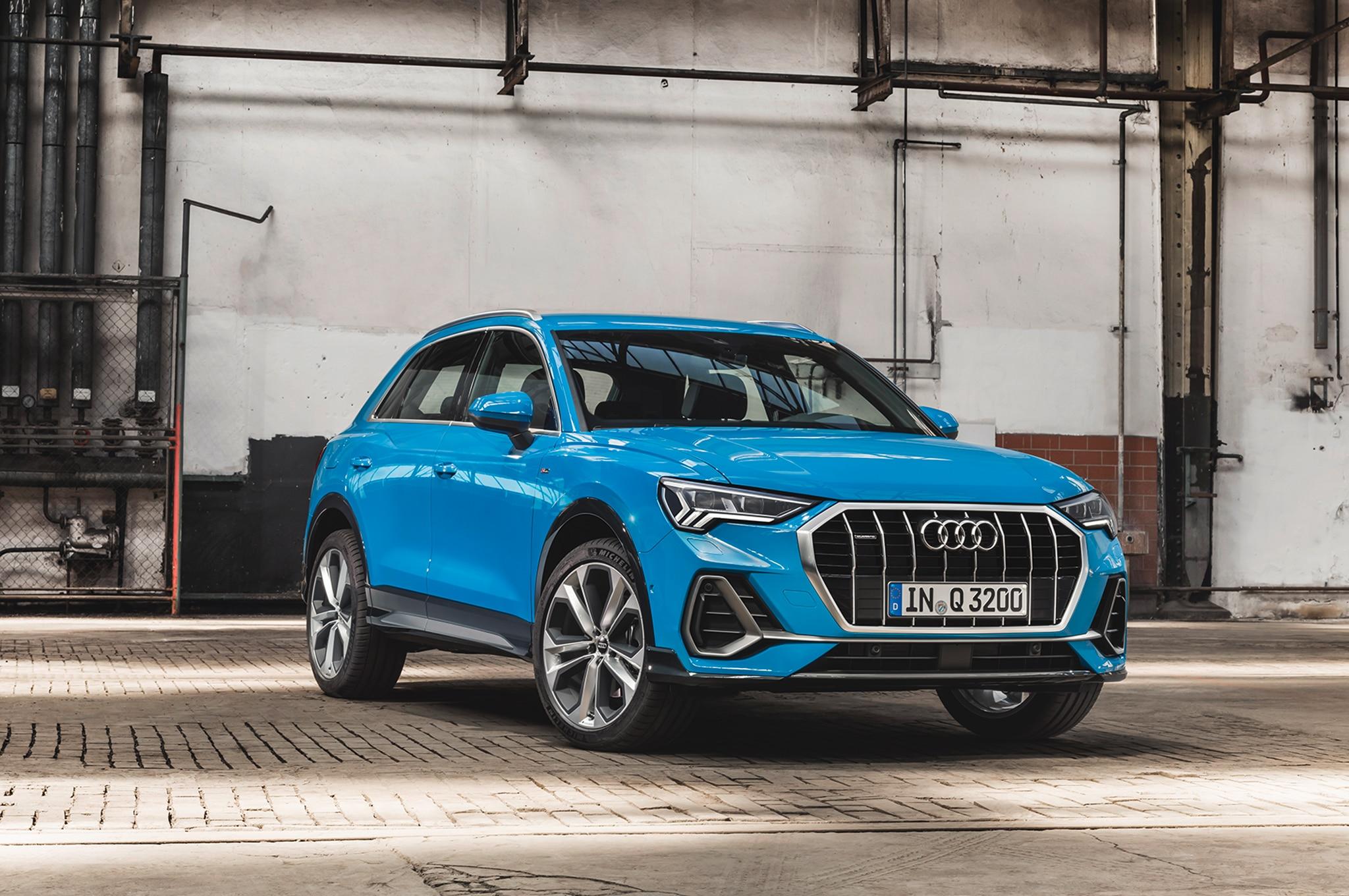 2019 Audi Q3 Front Three Quarter 01