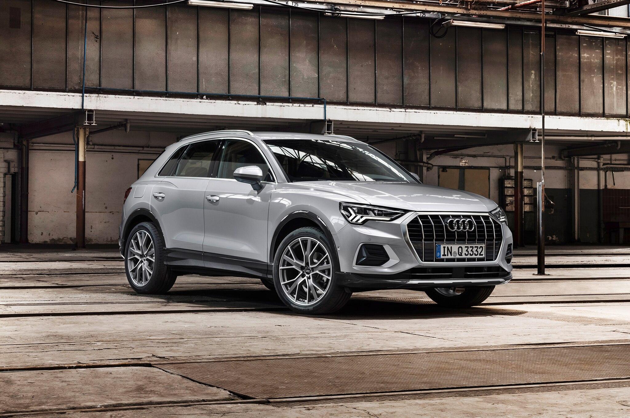 2019 Audi Q3 Front Three Quarter 04