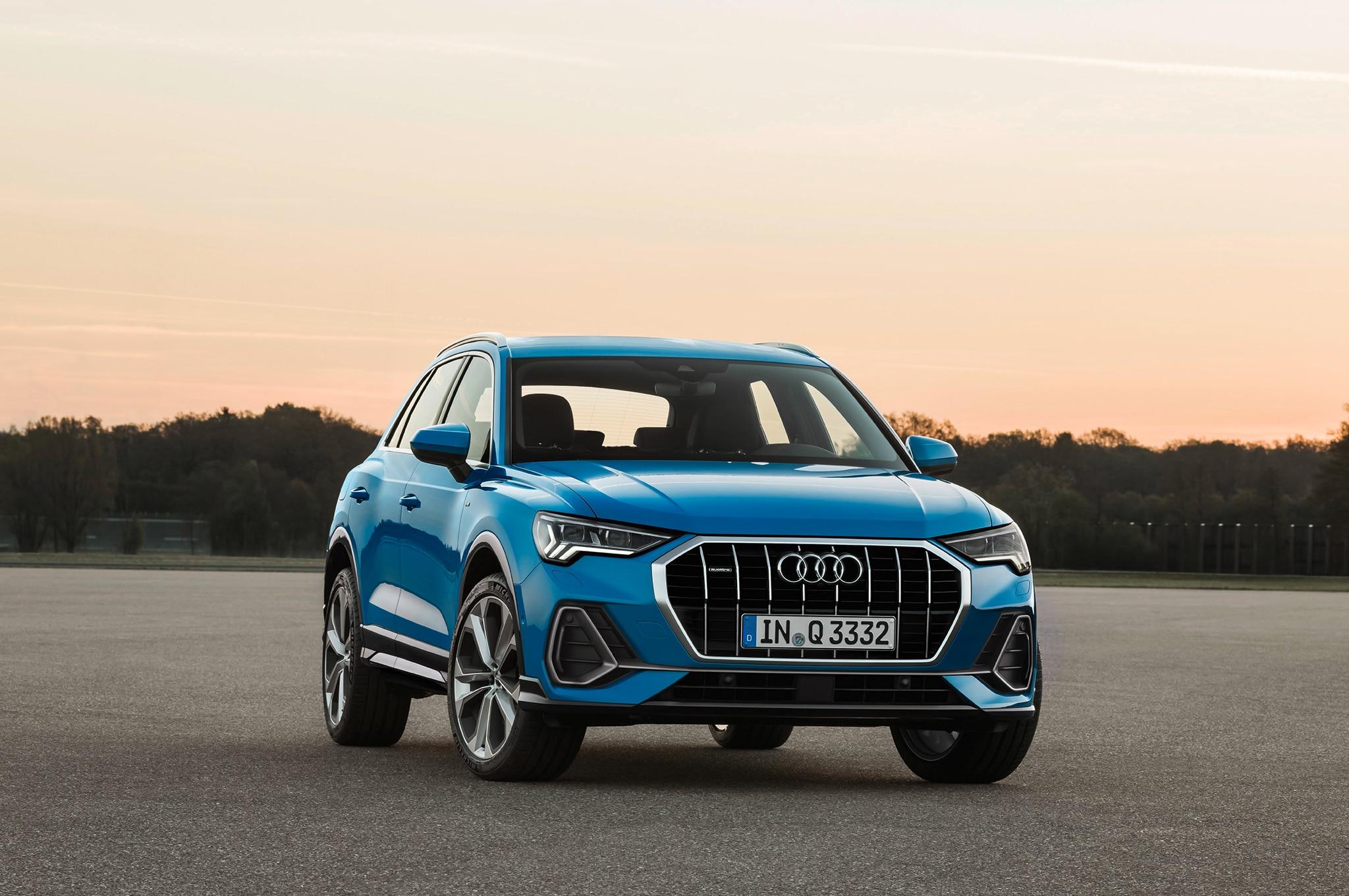 2019 Audi Q3 Front Three Quarter 05
