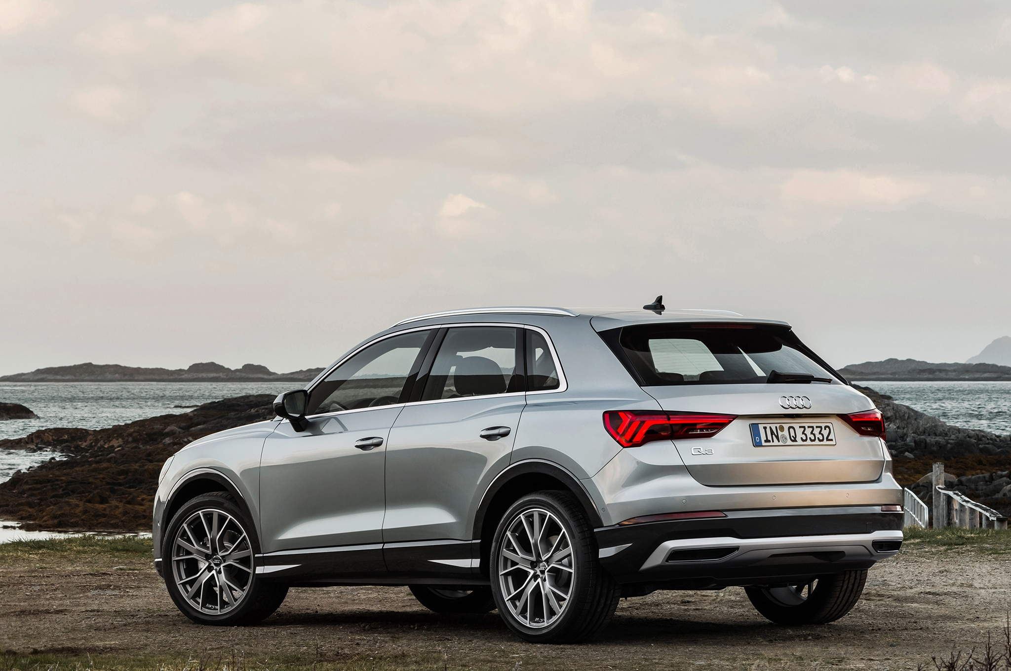 2019 audi q3 gets an aggressive redesign automobile magazine. Black Bedroom Furniture Sets. Home Design Ideas