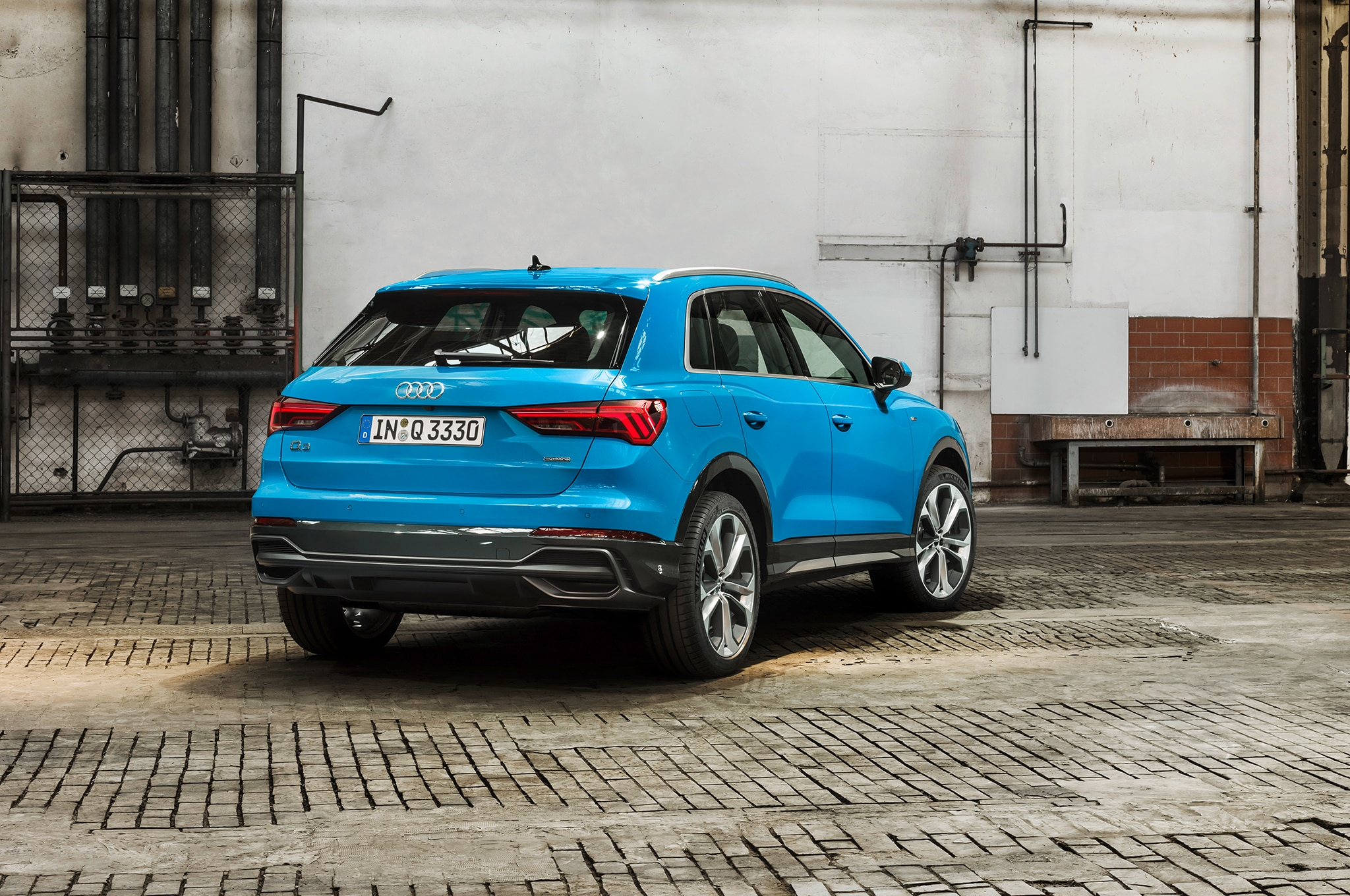 2019 Audi Q3 Rear Three Quarter 01