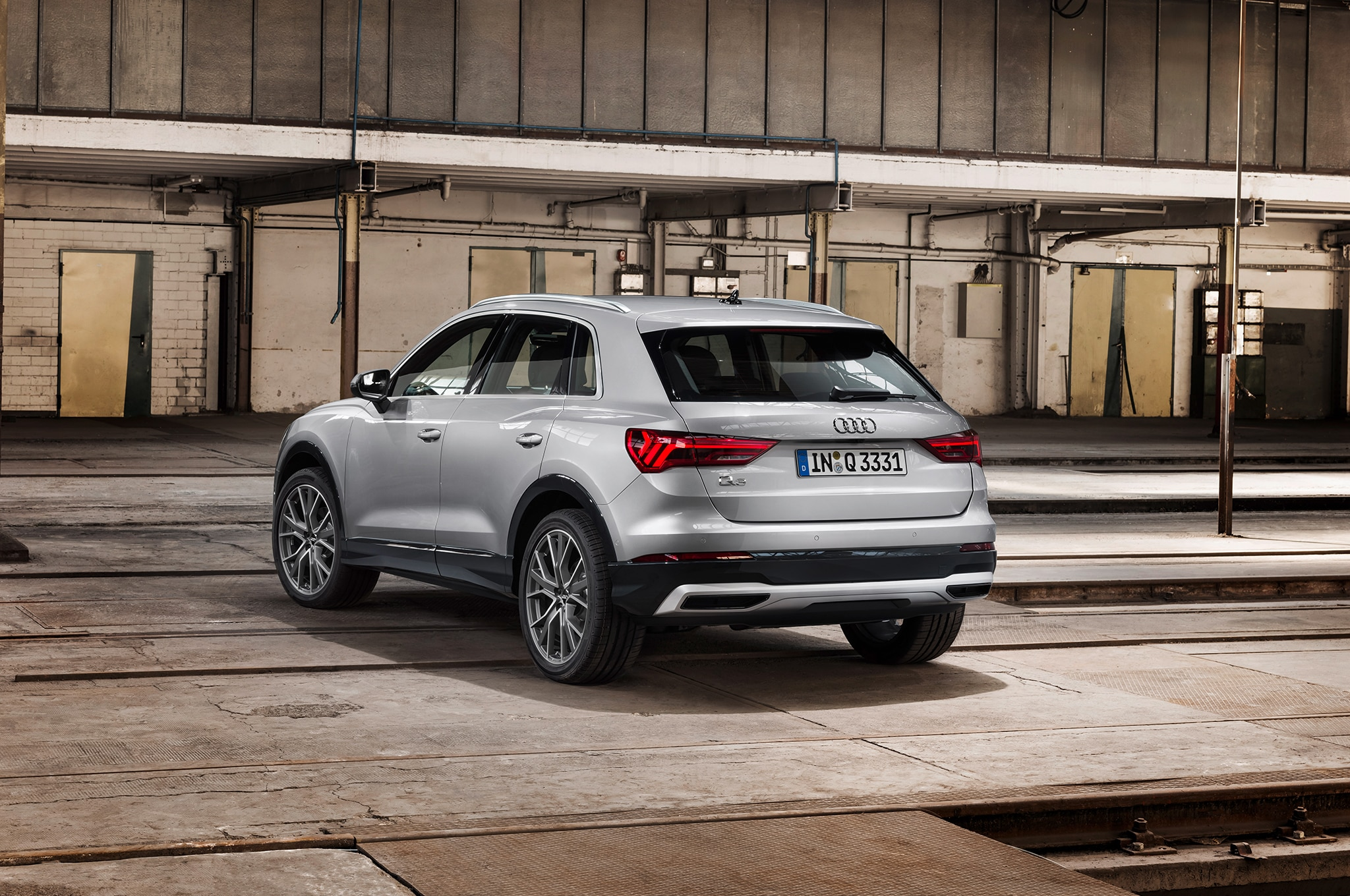 2019 Audi Q3 Rear Three Quarter 02