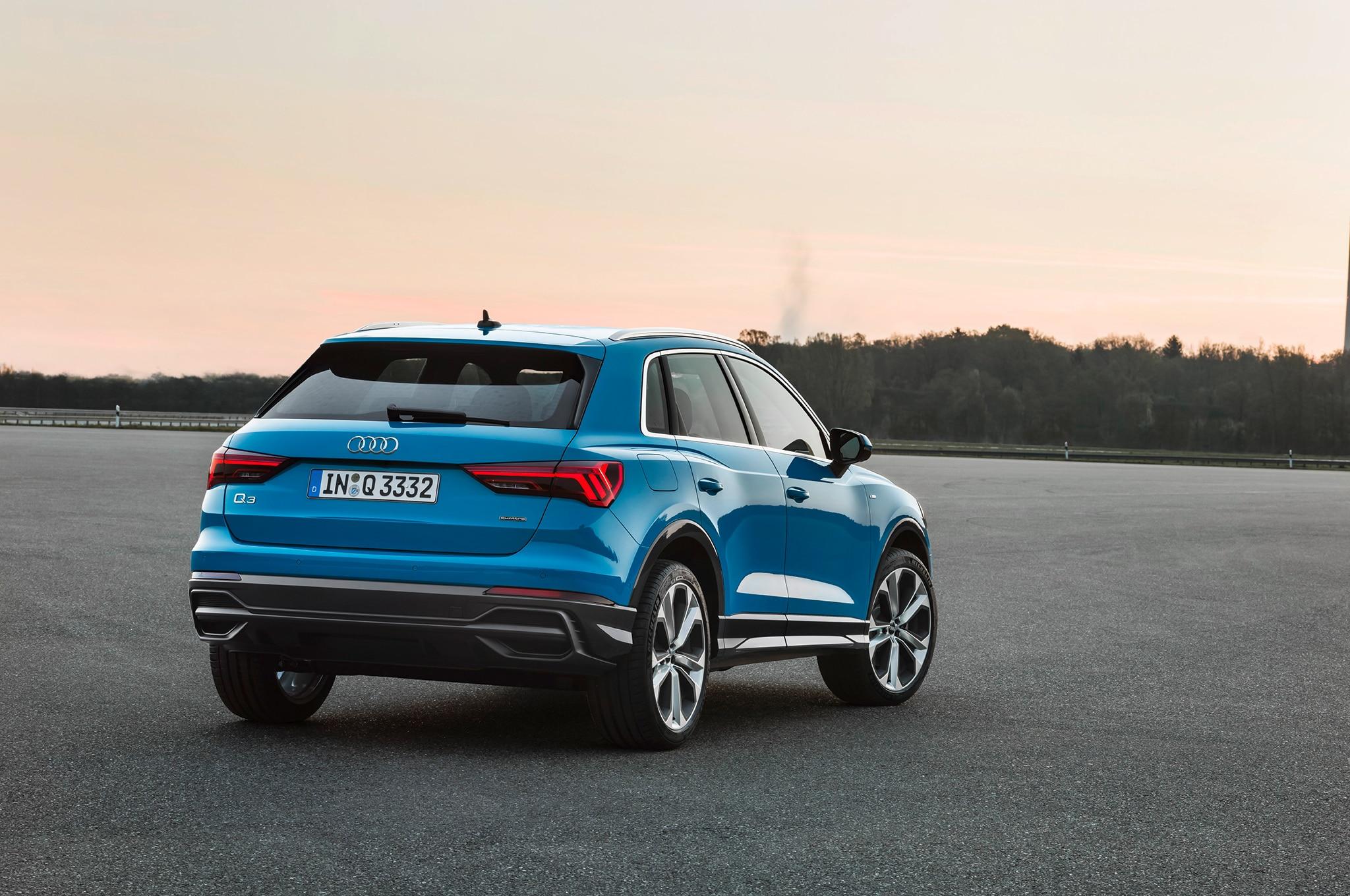 2019 Audi Q3 Rear Three Quarter 04