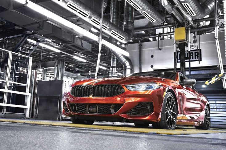 2019 BMW 8 Series Dingolfing