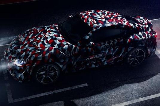 Toyota Supra Teased