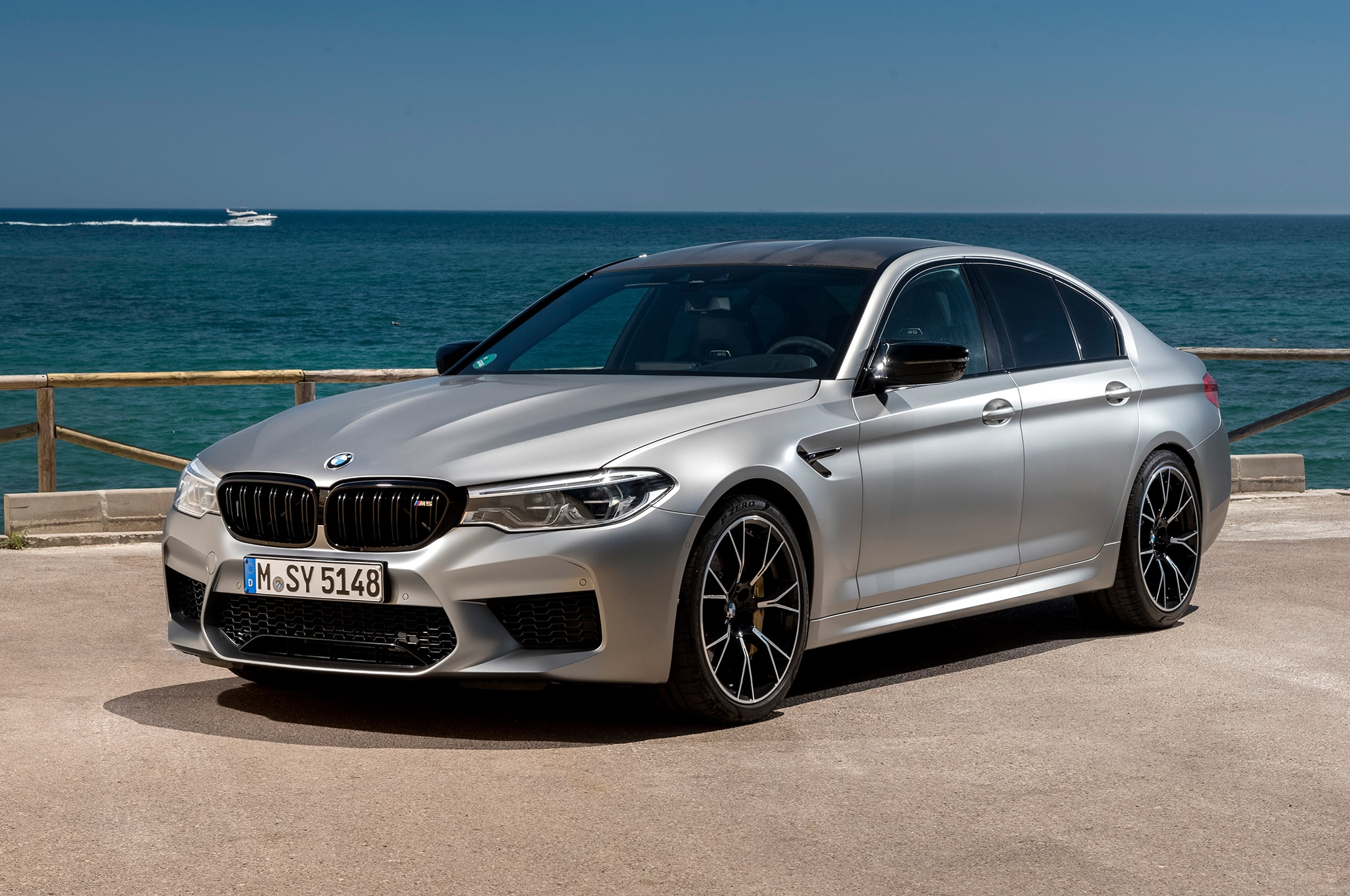 first look 2019 bmw m5 competition automobile magazine. Black Bedroom Furniture Sets. Home Design Ideas