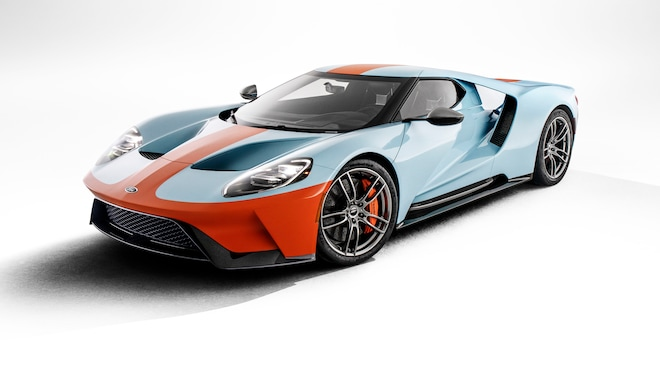 2019 Ford GT Heritage Edition Front Three Quarters