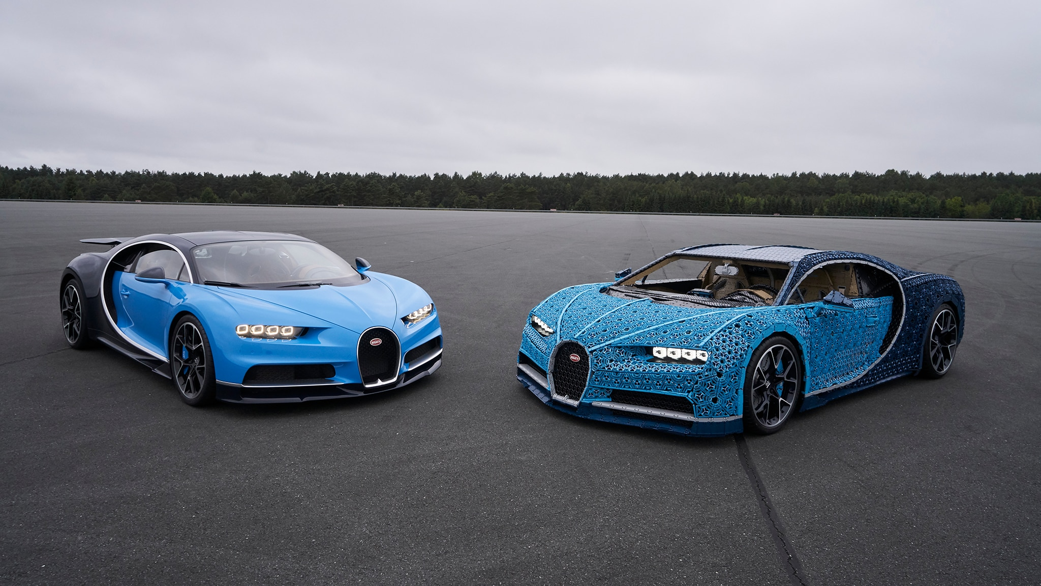 life size bugatti chiron made of legos actually runs. Black Bedroom Furniture Sets. Home Design Ideas