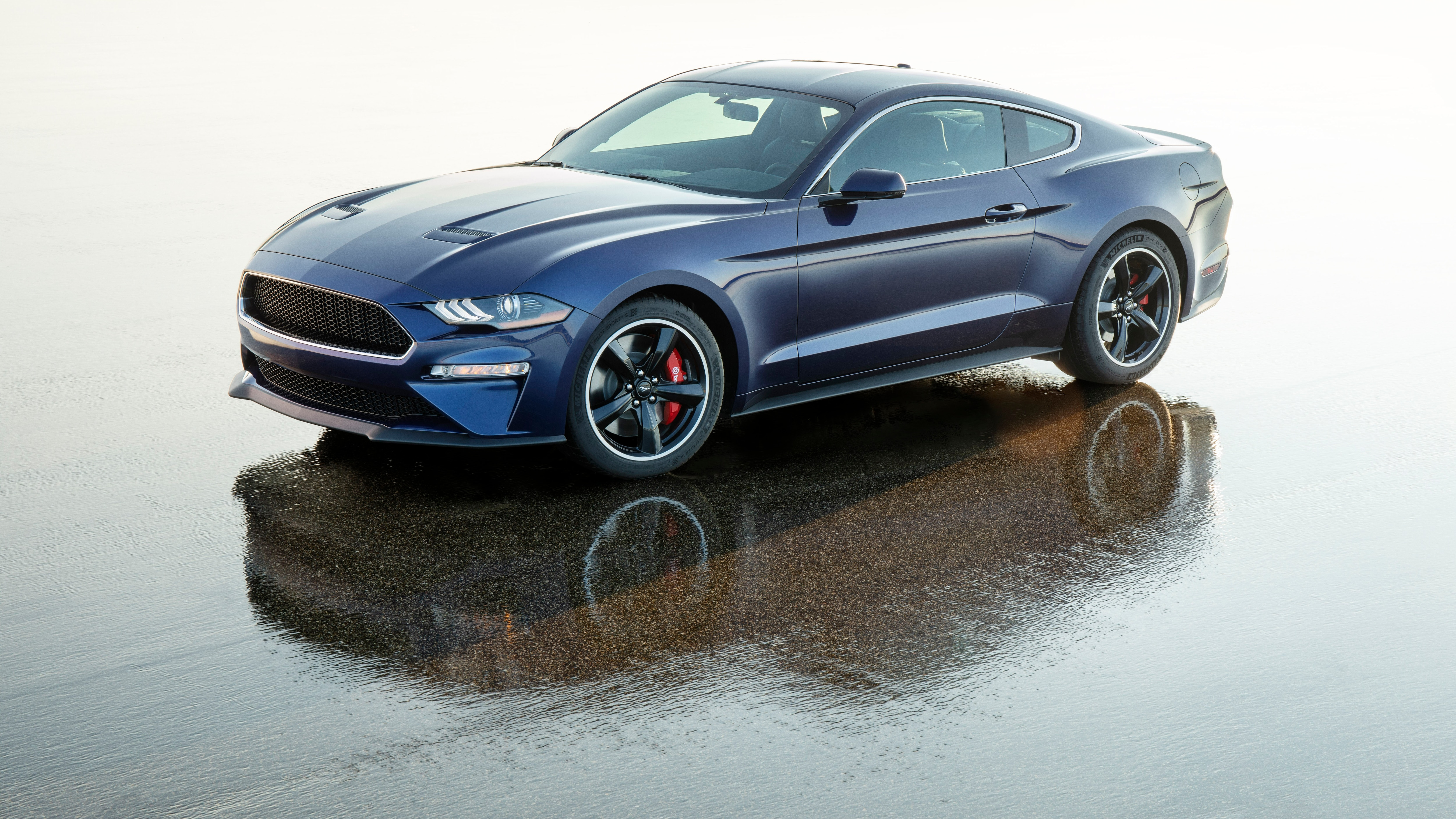 one off ford mustang bullitt in kona blue will be raffled. Black Bedroom Furniture Sets. Home Design Ideas