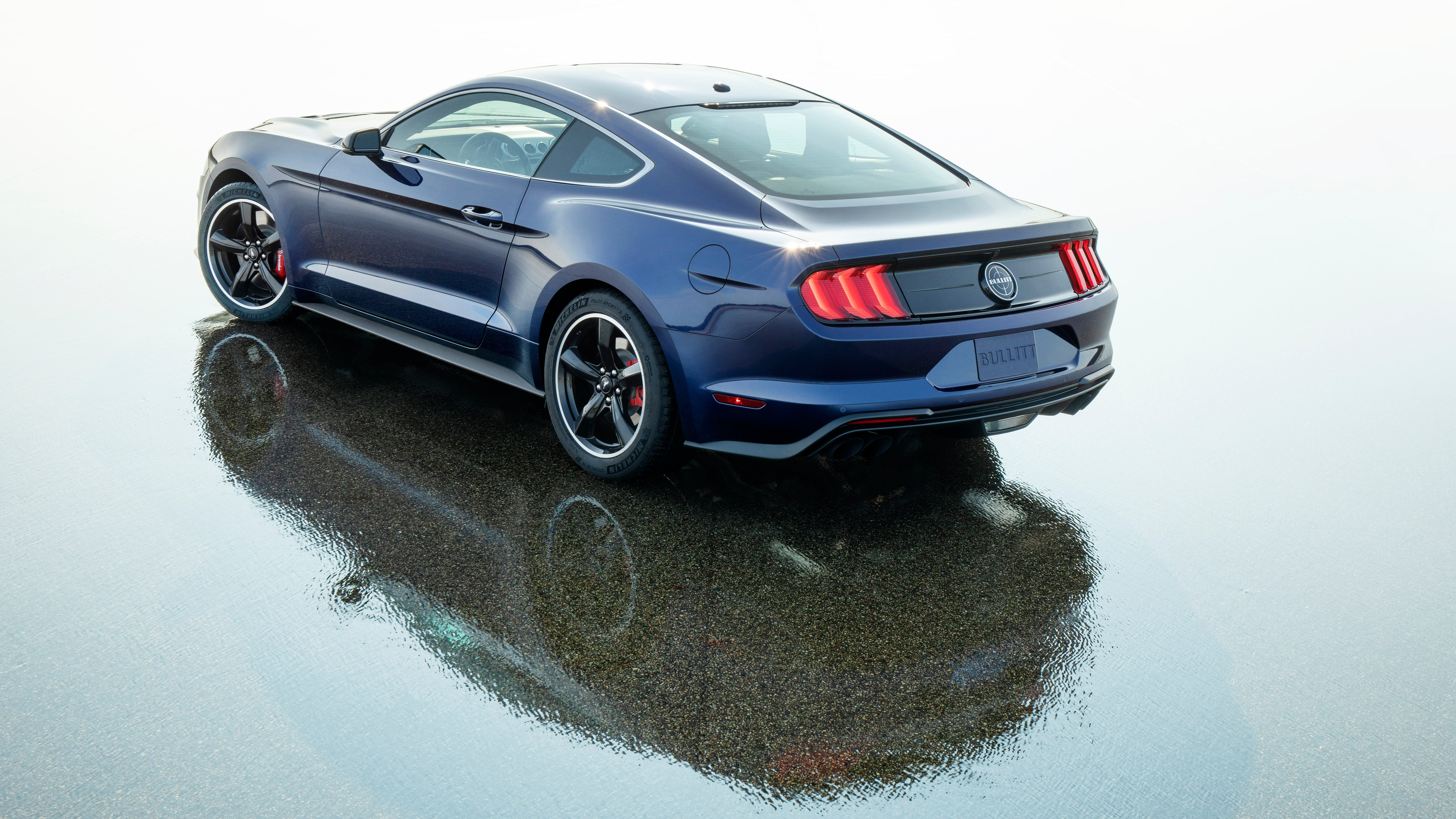Ford Mustang Bullitt Kona Blue autos t Ford mustang