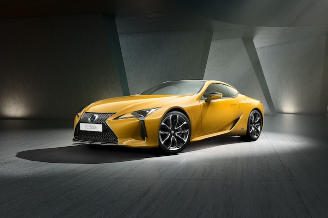 Lexus Lc Yellow Edition Adds A Dash Of Color Automobile Magazine
