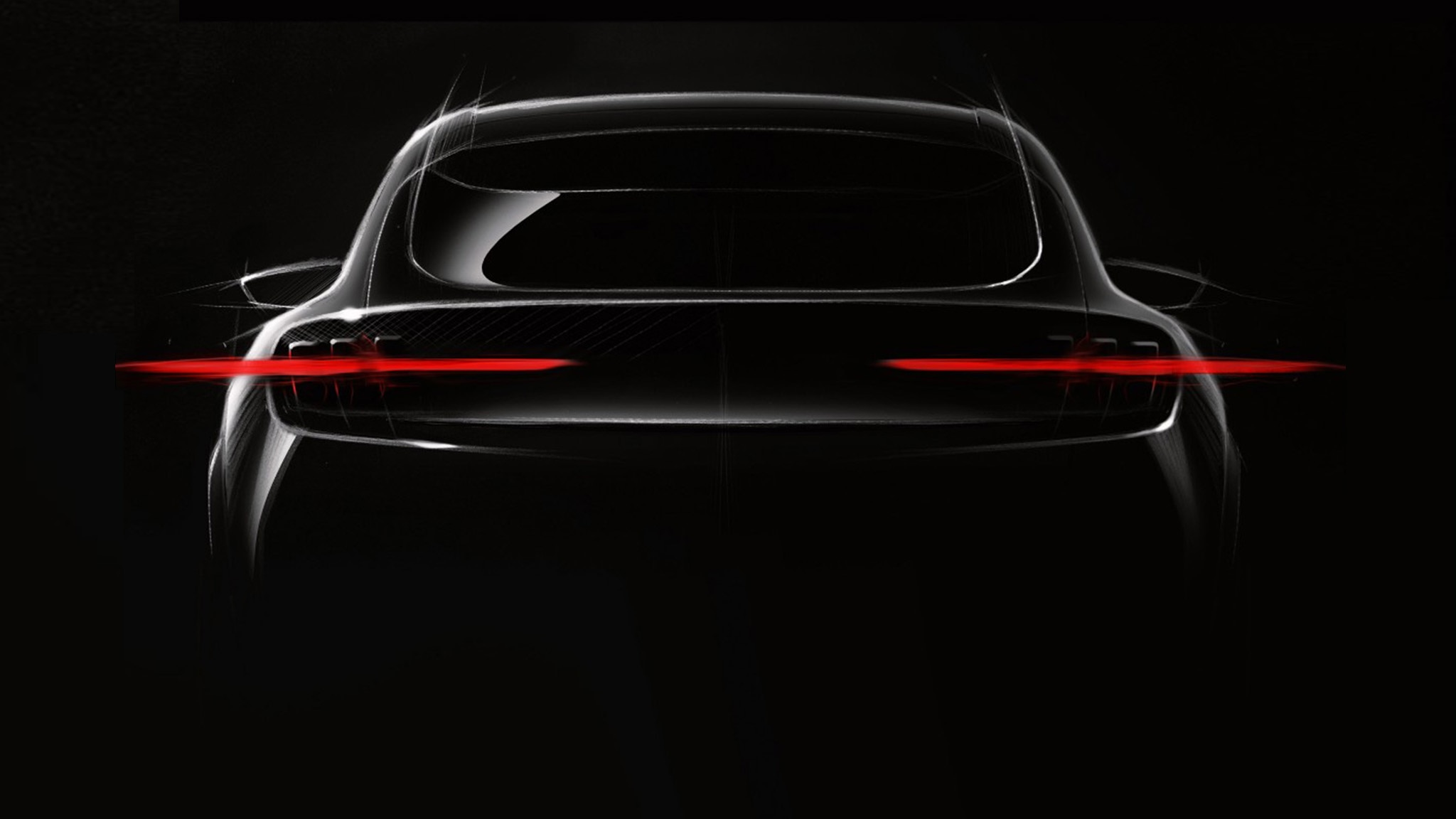 Ford Mustang Inspired Electric SUV Teaser