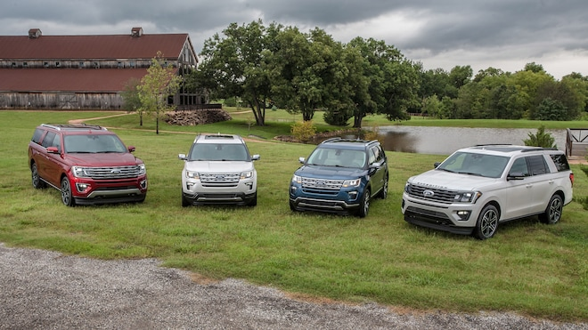 Ford Unveils Four 2019 Special Edition SUVs