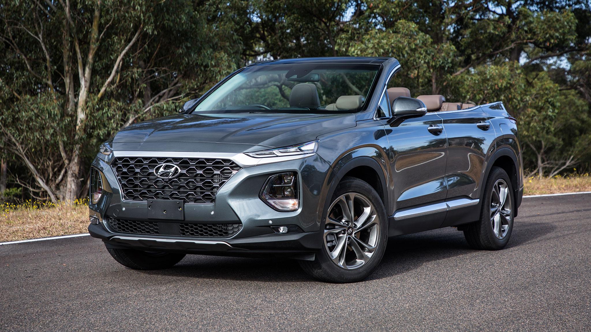 Hyundai Santa Fe Cabriolet 5