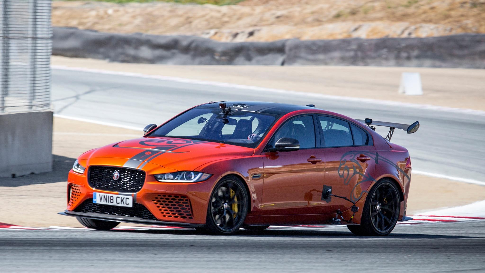 Jaguar XE SV Project 8 Laguna Seca 1