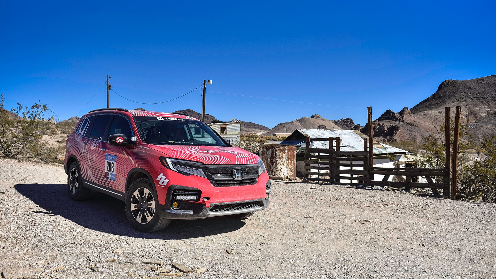 Honda Built An Overland Ridgeline Concept For Sema