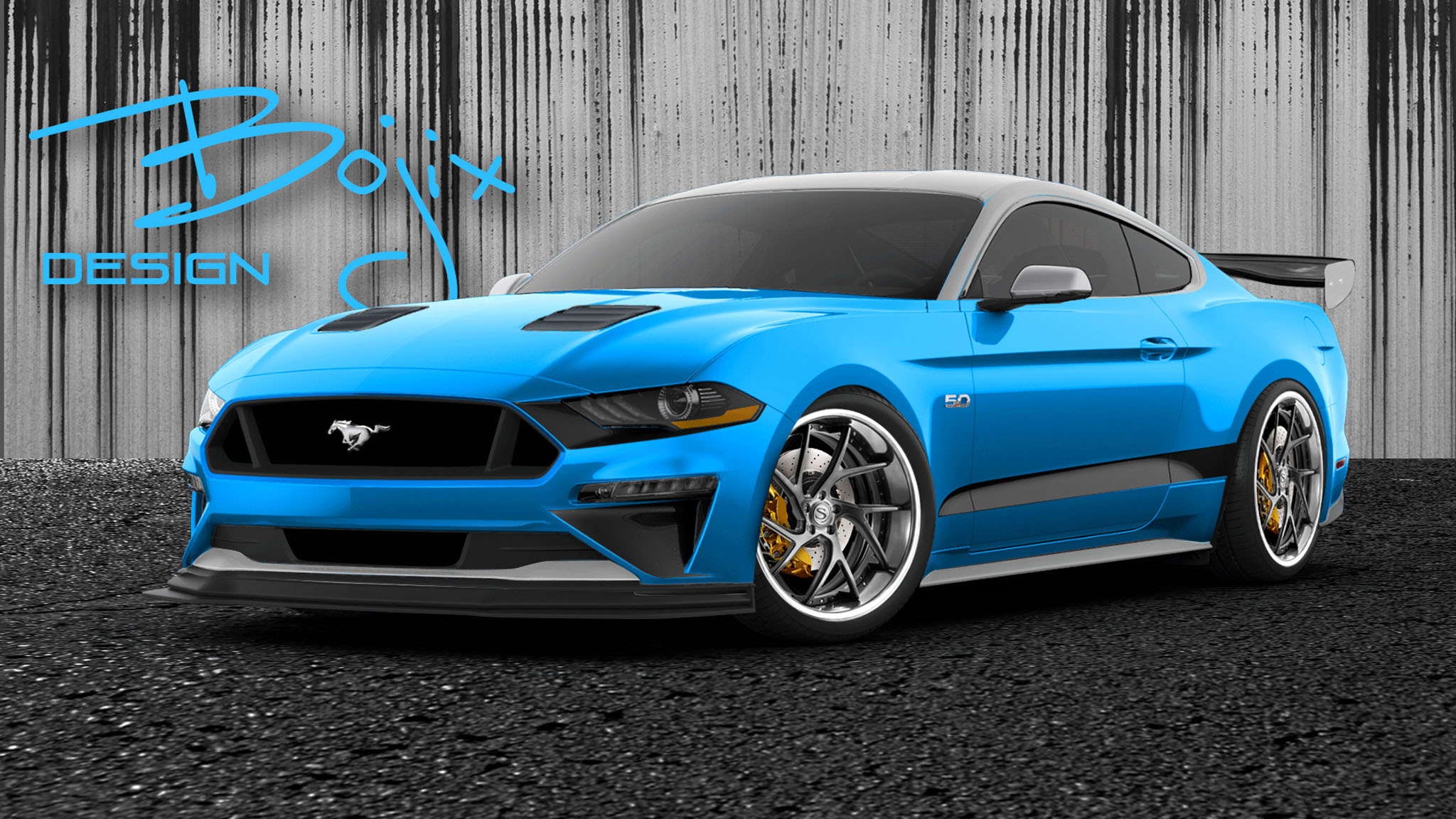 2018 Ford Mustang GT Bojix Design