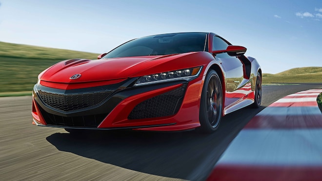 2019 Acura NSX Front Three Quarter In Motion 6