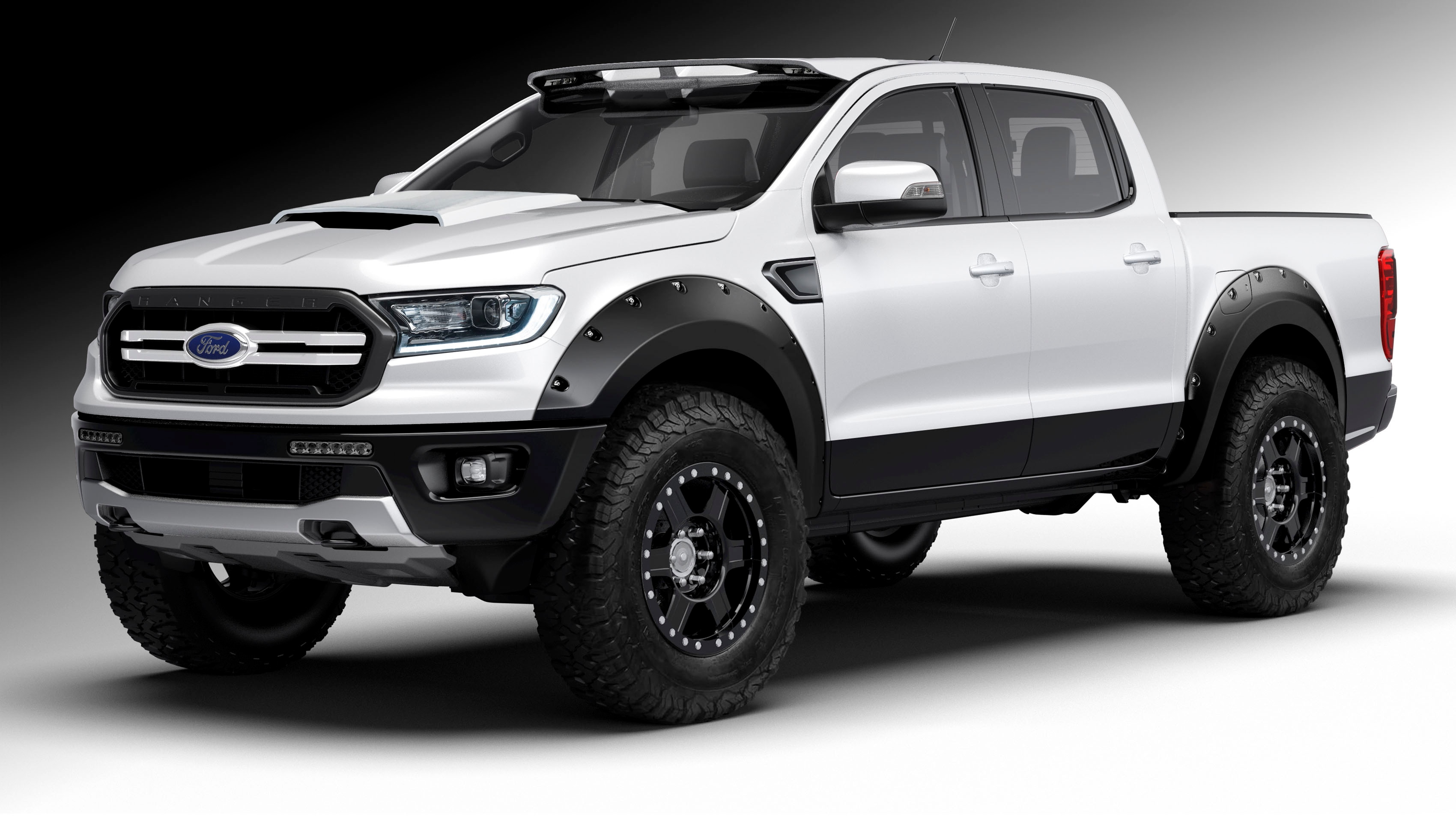 2019 ford ranger headed to sema automobile magazine. Black Bedroom Furniture Sets. Home Design Ideas