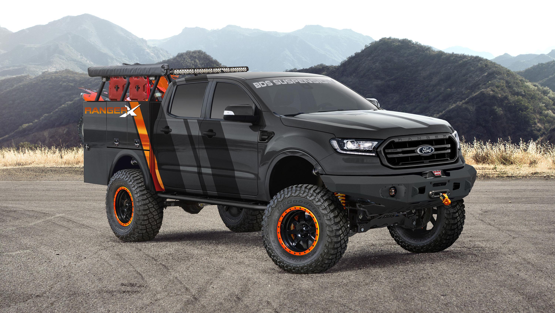 2019 Ford Ranger Project Ranger X BDS Suspension