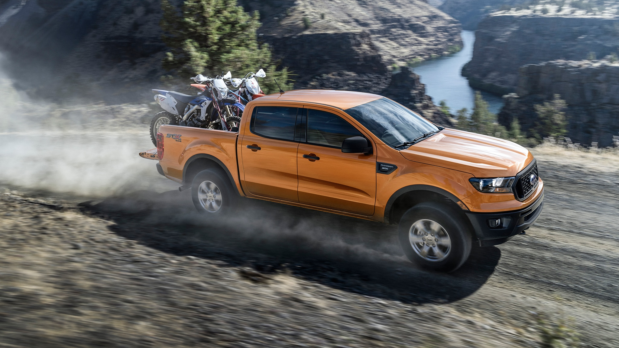 Ford Ranger claims towing and payload titles