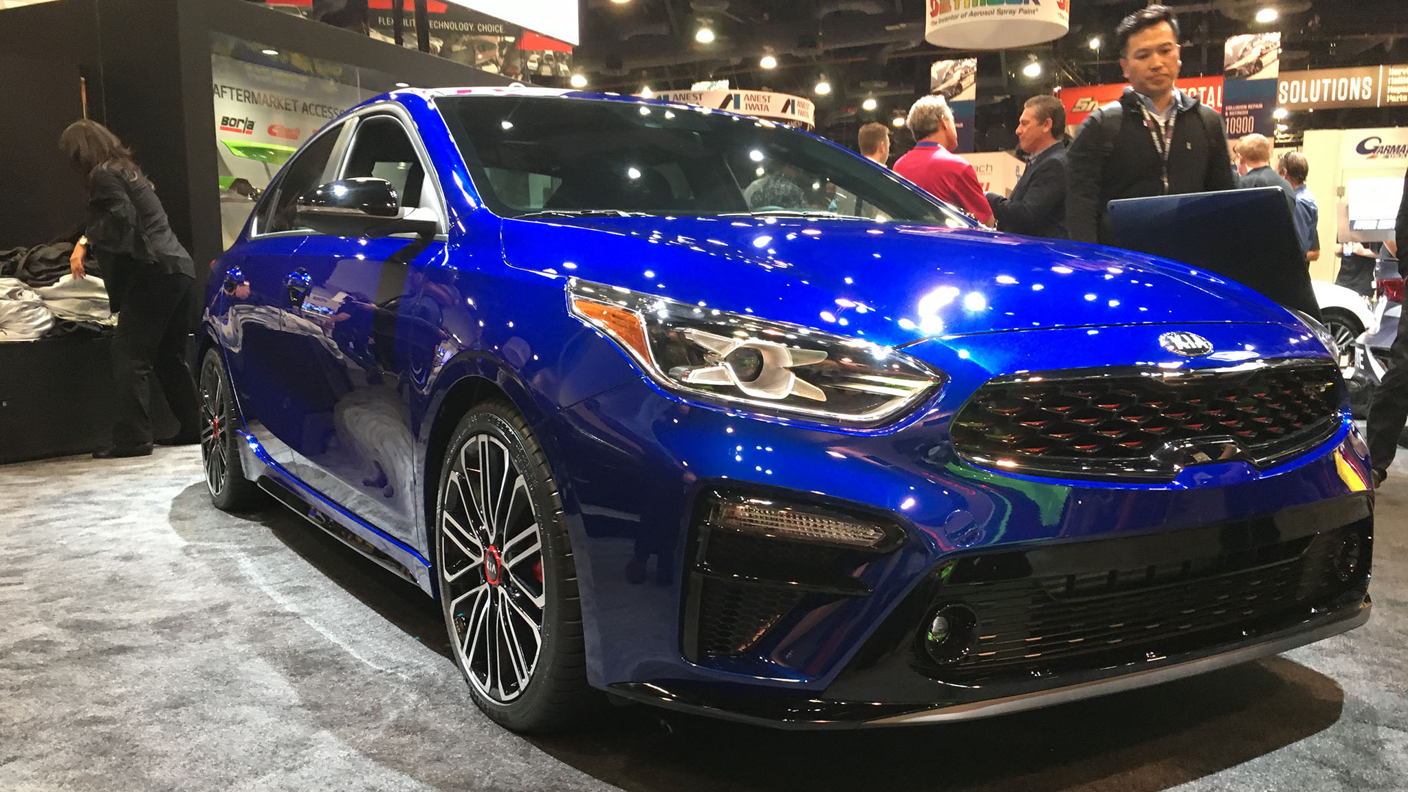 2020 Kia Forte Gt With 201 Horsepower Debuts At Sema Automobile