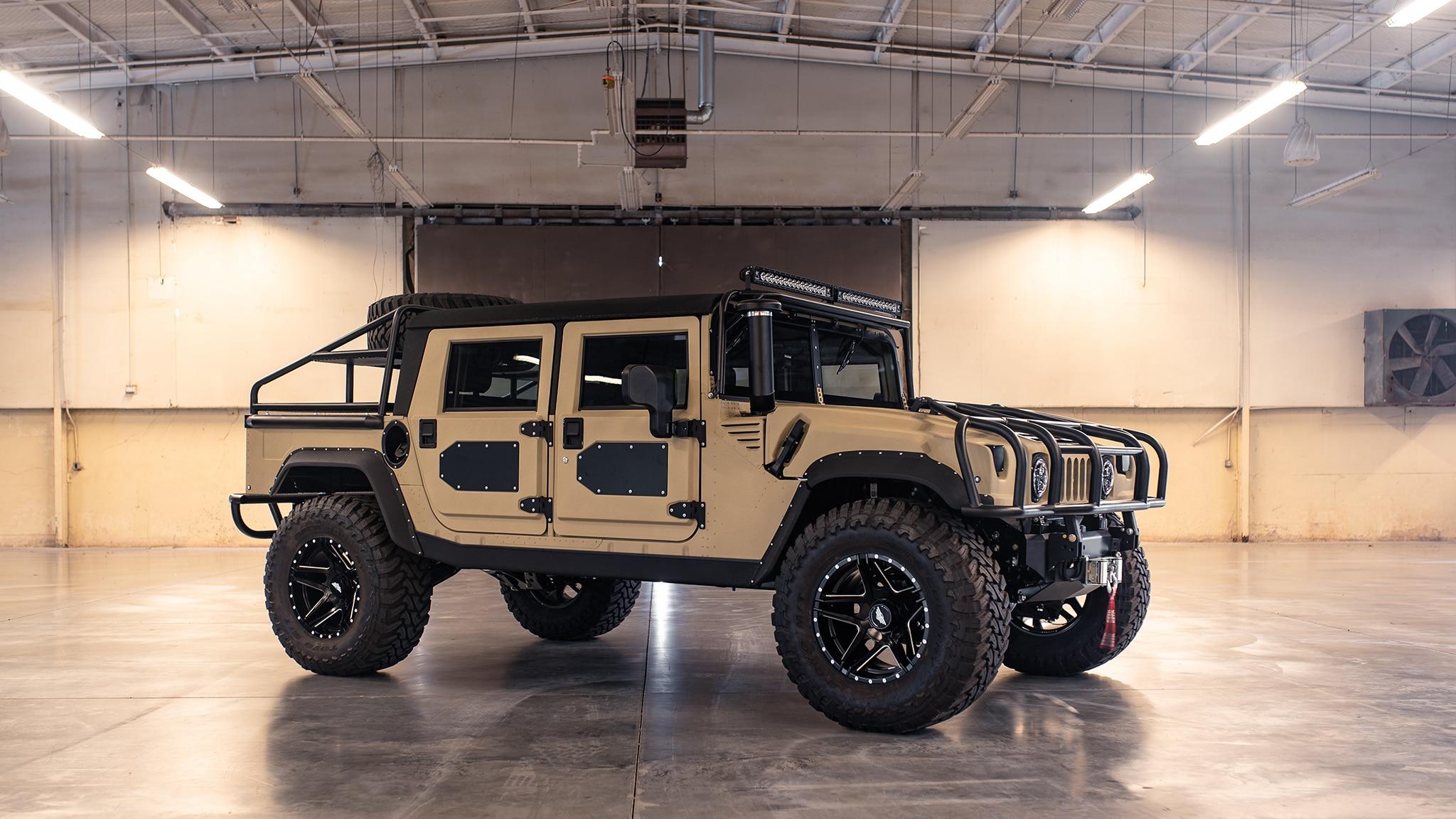 Mil Spec Automotive S Hummer H1 Was Built For Baja Automobile Magazine