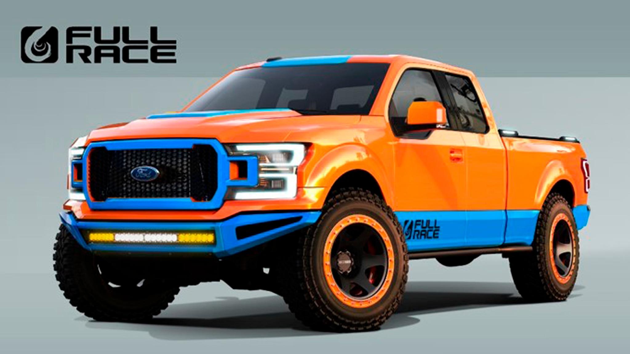 Seven Custom Ford F Series Trucks are SEMA Bound
