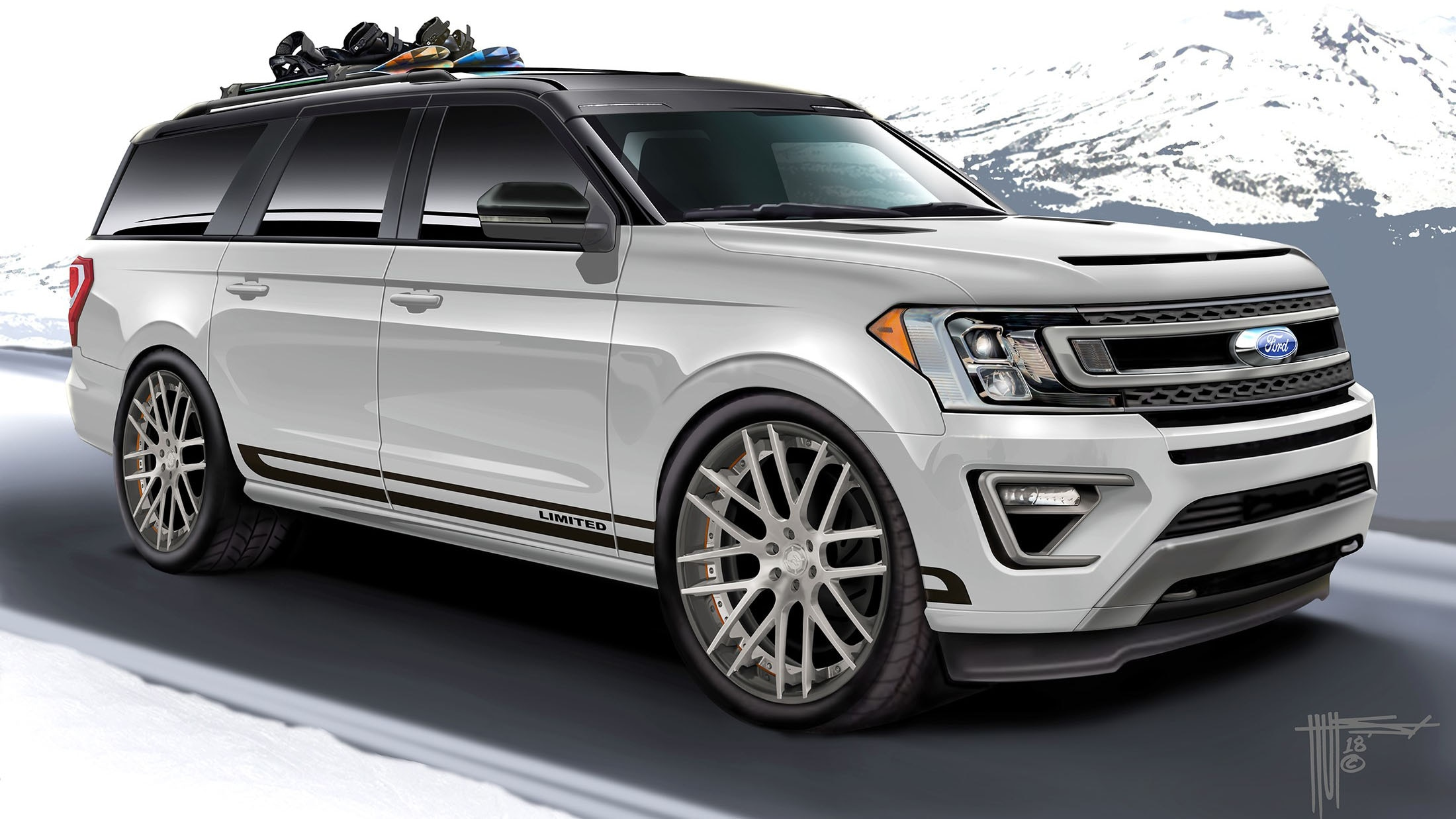 Ford Suvs Gussy Up For Sema Automobile Magazine