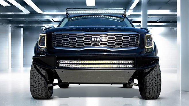 Kia Pickup Truck Coming to Slot Under Ford Ranger, Jeep ...