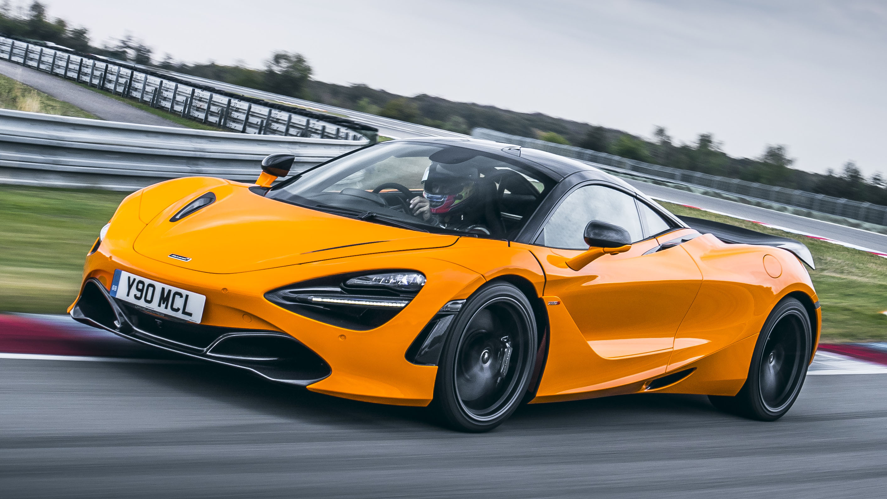 McLaren 720S Track Pack Close Up