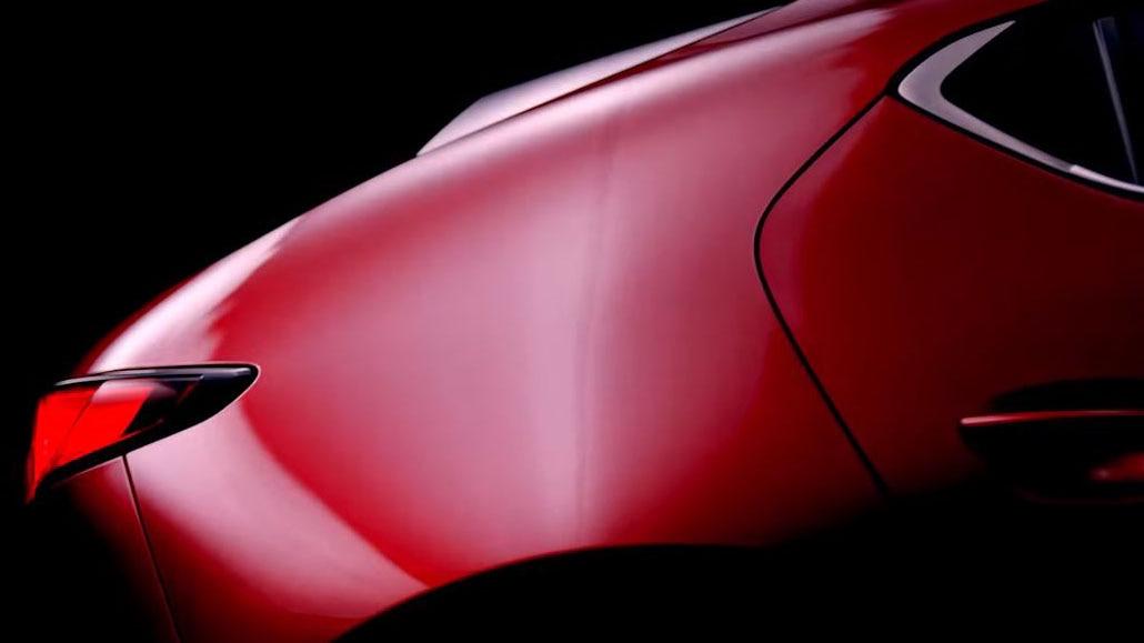 New Mazda3 teased ahead of LA Auto Show debut