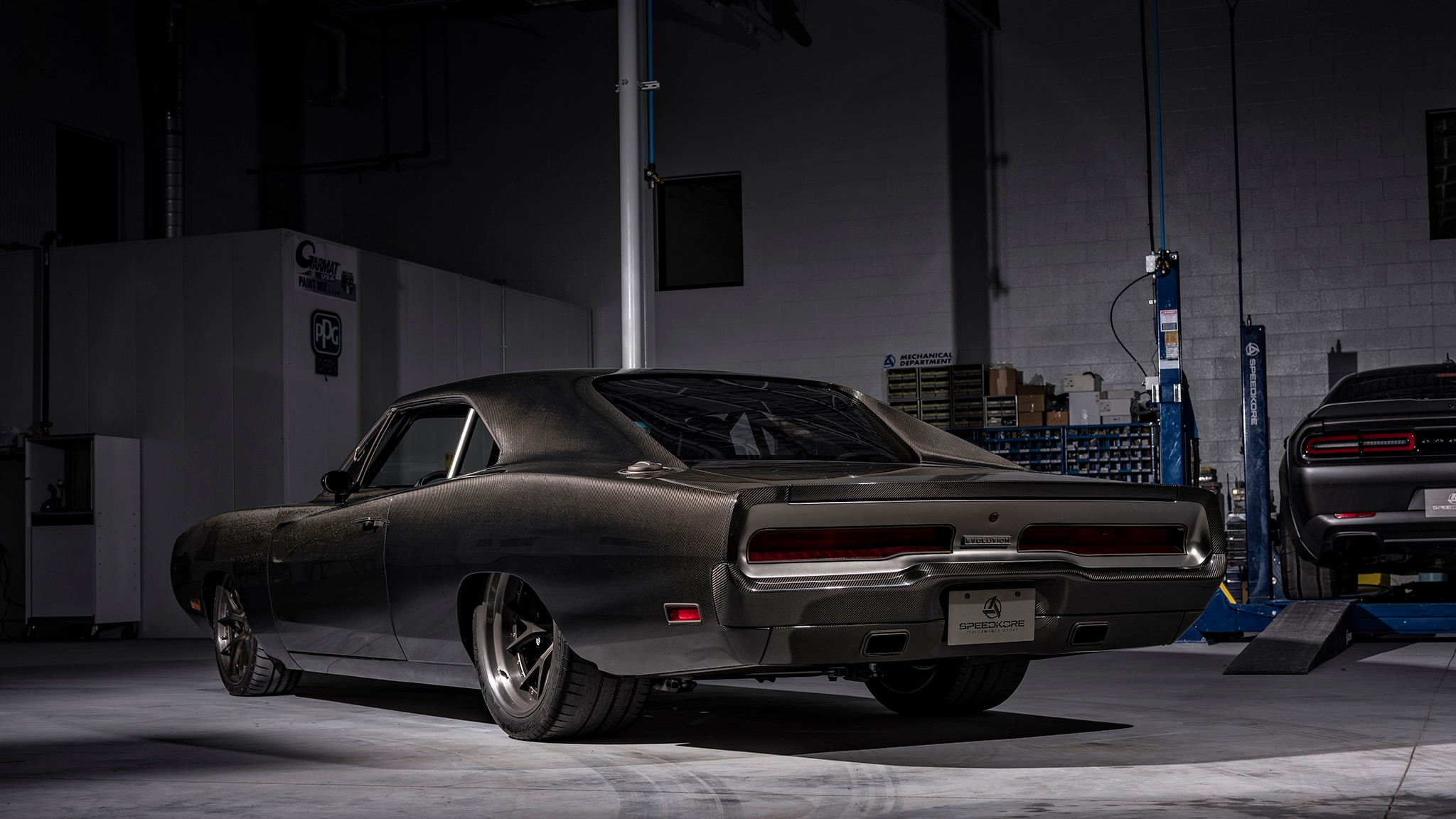 Speedkore S 1970 Dodge Charger Evolution Packs A Demon V